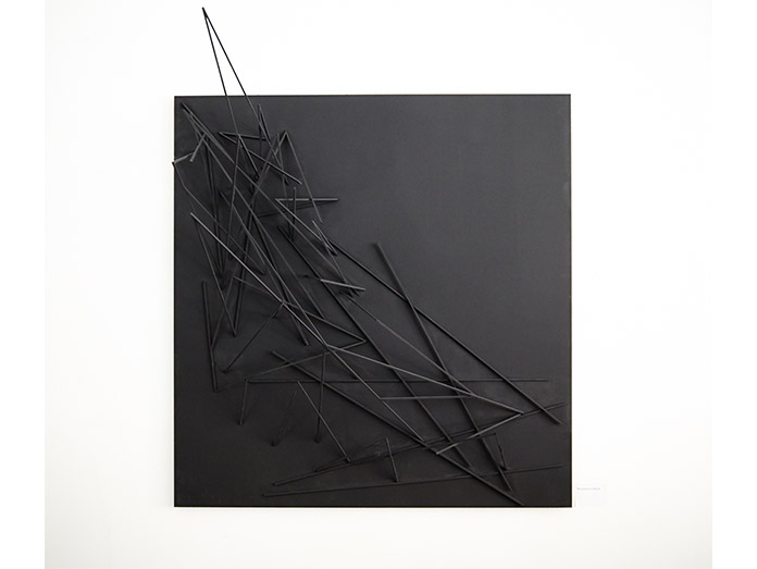 Revisiting group X 2013, Printhouse Gallery, 'Movement in black'