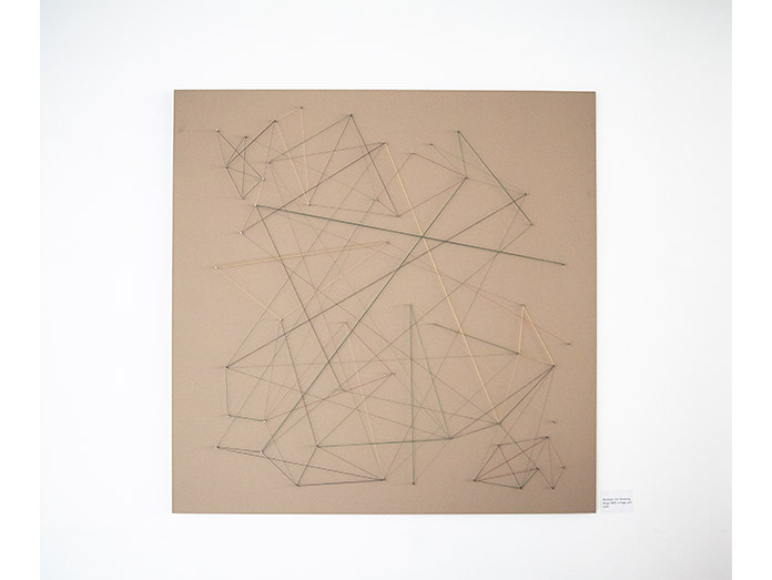 Revisiting group X 2013, Printhouse Gallery, 'Multiple line drawing'