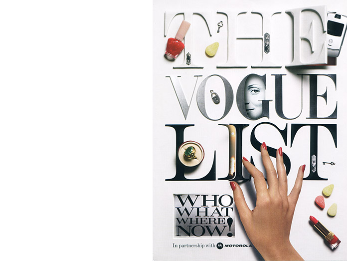vogue : photographer robin derrick